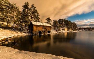 зима, норвегия, норвегии, alesund kommune, more og romsdal