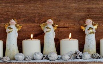 свечи, новый год, игрушки, рождество, xmas, декорация, счастливого рождества, holiday celebration