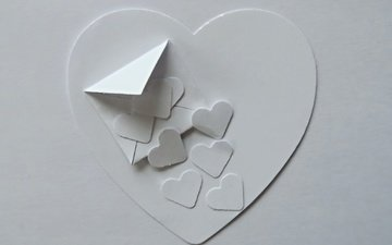 background, paper, heart, valentine's day