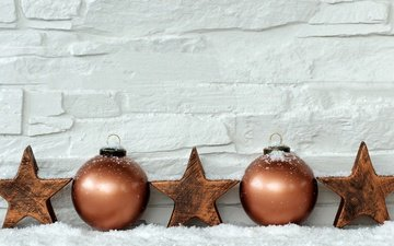 candles, new year, balls, stars, christmas, xmas, decoration, merry christmas, holiday celebration