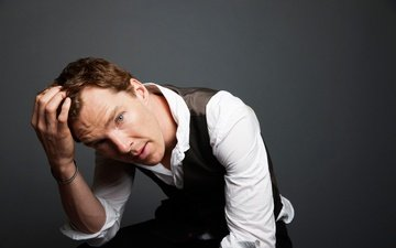 look, face, male, shirt, benedict cumberbatch