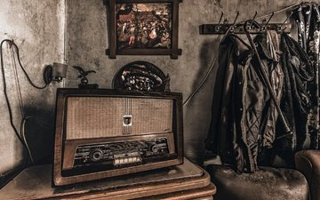 background, radio, receiver