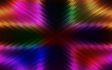 abstract, neon, background, colorful, glittering