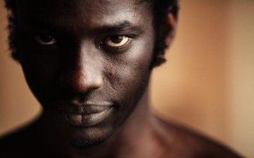 portrait, man, niko nikolas, black