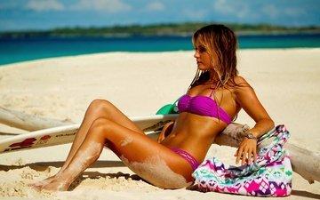 пляж, спорт, серфинг, песка, alana blanchard