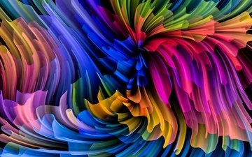 abstract, abstraction, background, paint, color, rainbow, splash, painting, colors, colorful