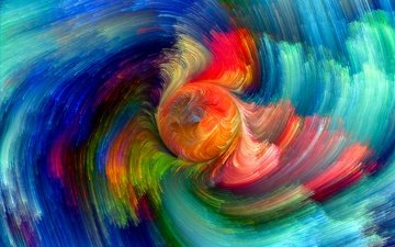 abstract, abstraction, paint, color, rainbow, splash, painting, colors, colorful
