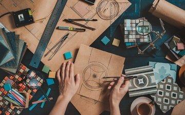рука, дизайн, руки, кожа, творчество, дезайн, креативность, дизайнер, sketches, compas, illustrations, иллюстрации
