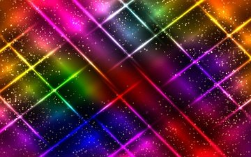 abstract, neon, abstraction, line, background, color, colorful, glittering, sparkle