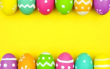 background, easter, easter eggs, eggs, spring, colorful, happy easter