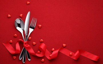 background, romantic, red, valentine's day, love, heart, 14 february