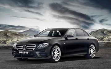 auto, model, tuning, mercedes-benz, atelier, e-class, brabus, 2017, w213