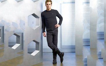 actor, male, star trek, photoshoot, beautiful, chris pine, star trek - nemesis