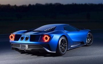 auto, supercar, 2017, ford gt
