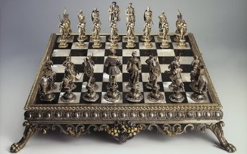 шахматы, доска, фигуры, игра, шахматная, интеллектуальная, настольная, логическая