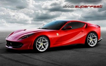 auto, company, ferrari, strong, supercar, ferrari 812 superfast, built, 800, granturismo