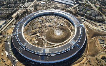 apple, new, the headquarters of apple