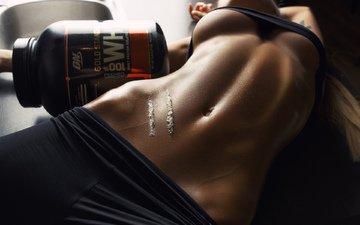 белка, фитнес, хорошенькая, без задних ног, кожи, gевочка, синицы, sixpack, whey