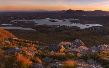 горы, шотландия