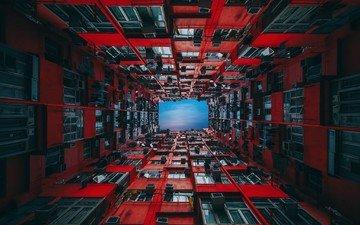 город, гонконг