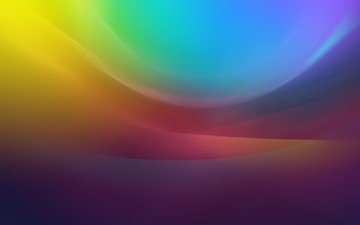 abstraction, line, wave, background, color, rainbow, gradient