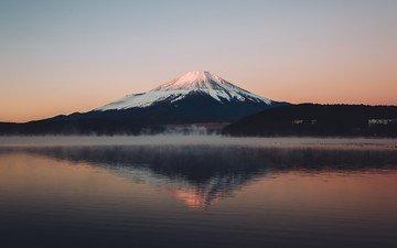 mountain, japan, kyoto, the volcano, fuji, tokyo, the island of honshu, mount fuji