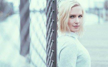 глаза, девушка, блондинка, портрет, модель, лицо, ева микалски, ева микульски