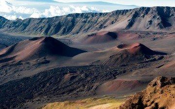 usa, the volcano, hawaii, maui, haleakala