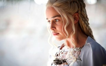 dress, blonde, girls, beauty, actress, the series, game of thrones, emilia clarke, daenerys targaryen