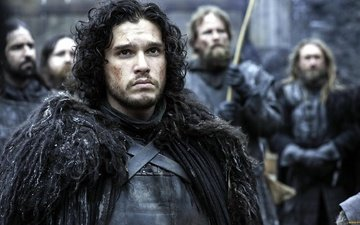 actor, men, the series, brunette, handsome, game of thrones, kit harington, jon snow