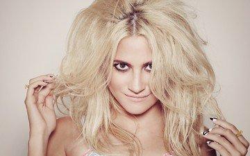 girl, blonde, smile, singer, celebrity, pixie lott, luxuriant hair