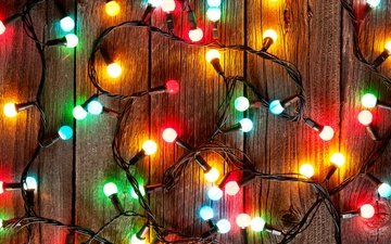 light, lights, new year, light bulb, christmas, garland, decoration, merry christmas
