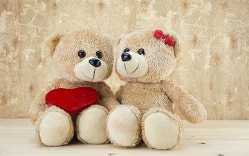 медведь, игрушка, любовь, тедди, медведи, романтические