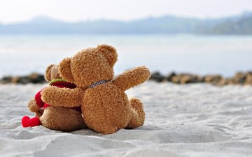 медведь, игрушка, любовь, романтика, тедди, медведи, романтичный