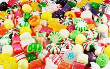 разноцветные, конфеты, красочные, яркие, сладкое, леденцы, конфета, сладенько, леденецы, красочная