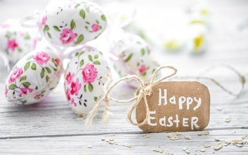 flowers, easter, pastel, eggs, decoration, spring, happy, the painted eggs