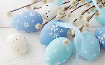easter, wood, verba, eggs, decoration, spring, happy, the painted eggs