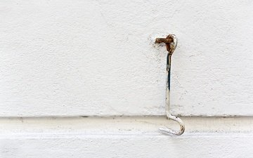 абстракт, дерево, текстура, стена, минимализм, архитектура, белая, минимаизм, белая стена, крючок, geometrie, architectural element