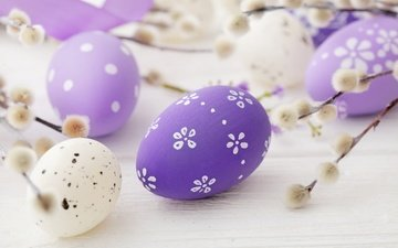 spring, easter, pastel, verba, eggs, decoration, happy, the painted eggs
