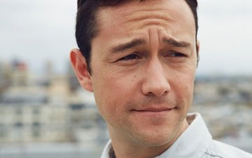 portrait, actor, face, close-up, photoshoot, the guardian, bokeh, patrick fraser, joseph gordon-levitt