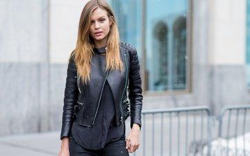 модель, куртка, модел, жозефин скривер