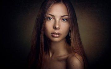 девушка, портрет, взгляд, фотограф, konstantin pilipchuk