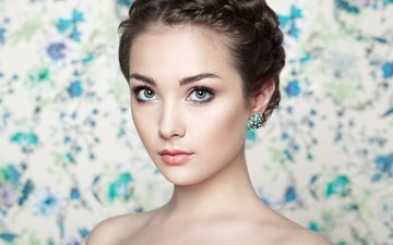глаза, девушка, портрет, взгляд, фотограф, oleg gekman