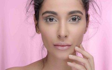 глаза, девушка, улыбка, брюнетка, модель, волосы, губы, лицо, актриса, фигура, знаменитость, болливуд, индийская, alankrita sahai
