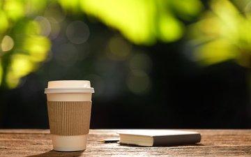 утро, кофе, чашка, романтик, книга, горячая, доброе утро, сердечка, coffee cup