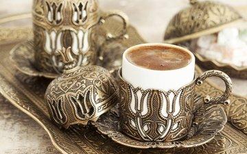 ретро, кофе, чашка, кубок