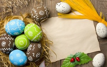 easter, socket, flowers, eggs, decoration, spring, happy, the painted eggs