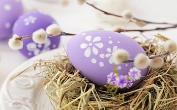 easter, verba, eggs, decoration, spring, happy, the painted eggs