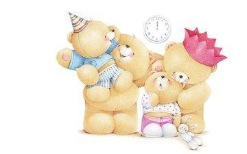 art, mood, bears, children, family, mom, holiday, dad, teddy bears, children's, forever friends deckchair bear