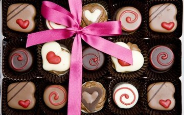 candy, heart, love, gift, chocolate, romantic, valentine's day